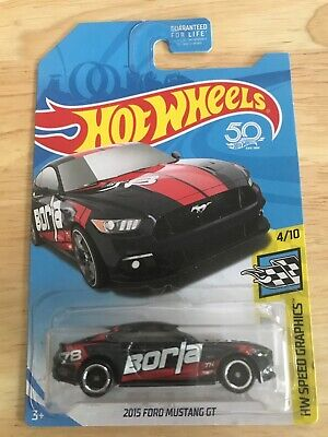 Hot Wheels 2018 Super Treasure Hunt 2015 Ford Mustang GT BORLA