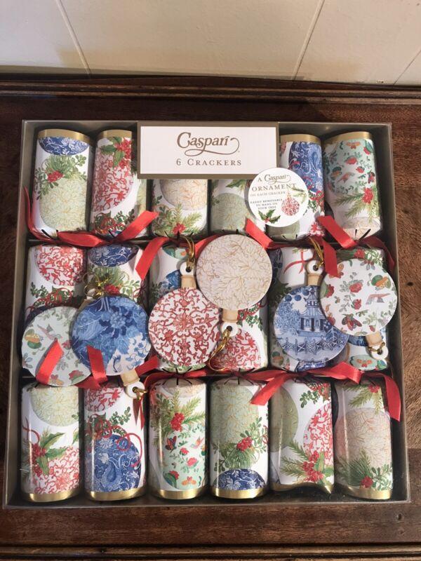 Caspari Crackers Christmas Ornament on Each Cracker Carolyn Bucha New