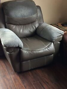 Recliner chair and love seats