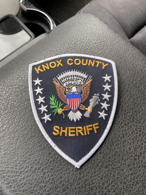 Knox County, Tennessee Sheriff patch TN Used
