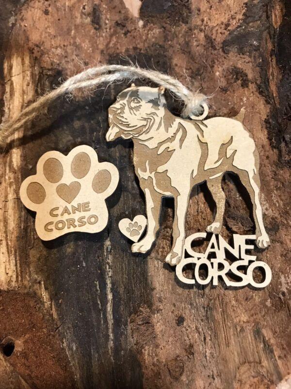 Cane Corso Christmas Ornament & 2 FREE MAGNETS