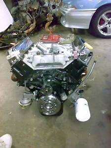 Holden 355 Stroker roller cam Race Engine 11.5 second Quarter mle Orange Orange Area Preview