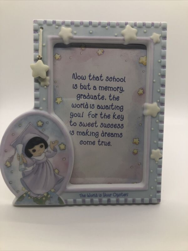 """Precious Moments 788406 Girl Graduation Picture Frame 4""""x6"""""""