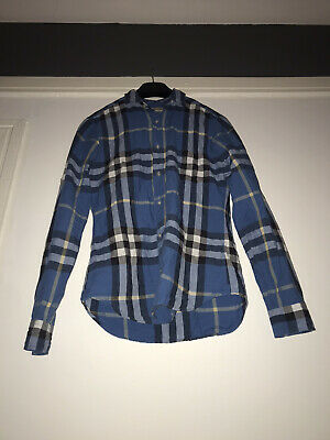 Burberry Blue Check Shirt
