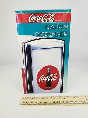 Coca Cola Have a Coke Napkin Dispenser Vintage 1992 Original Box
