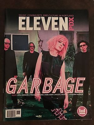 ELEVEN PDX magazine PORTLAND OREGON USA Garbage SHIRLEY MANSON Sept 2016 Wilco