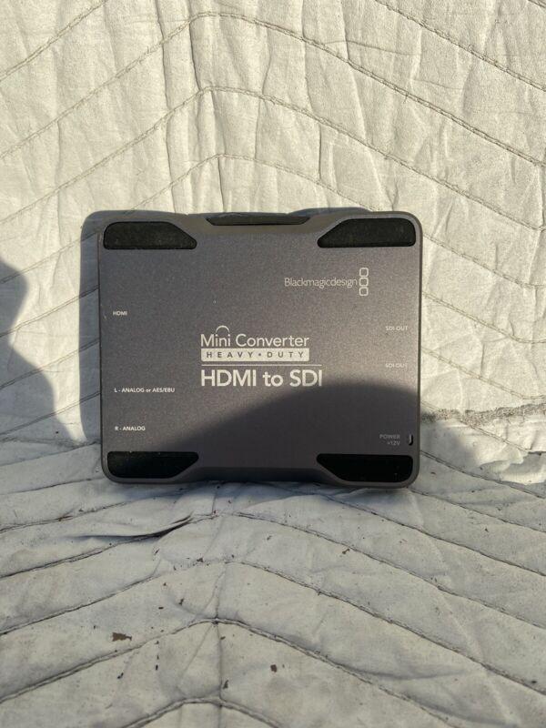 Blackmagic Design Mini Converter Heavy Duty - HDMI to SDI. No Power Supply