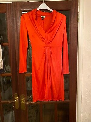 Issa Mainline Silk Jersey  Dress Uk 10