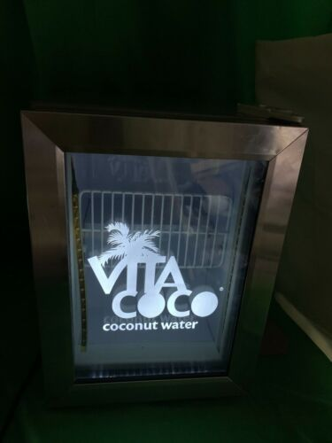 VITA COCO ADVERTISING TABLE TOP MINI FRIDGE