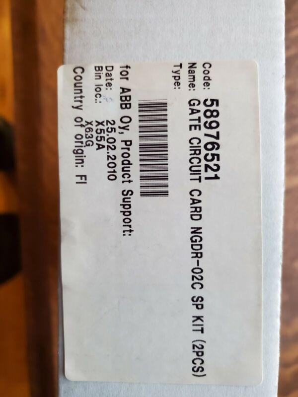 ABB Gate Circuit Card NGDR-02C SP Kit (2PCS)