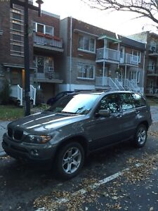 BMW X5 SUV for winter