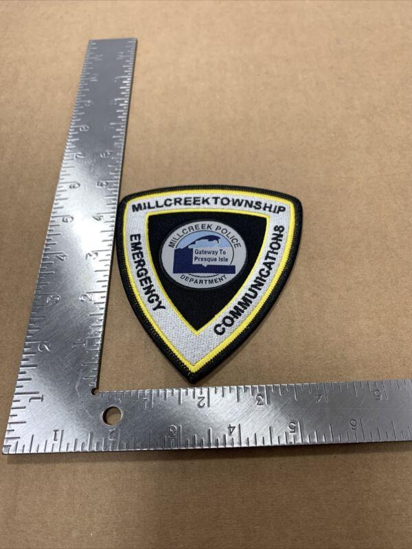 MILLCREEK TOWNSHIP PENNSYLVANIA PA 9-1-1 Dispatcher COMMUNICATIONS POLICE PATCH