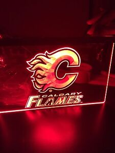 Calgary Flames Sign - New