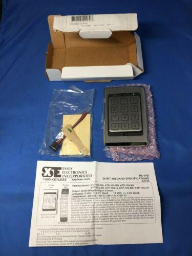 ESSEX ELECTRONICS INCORPORATED KTP-14312-SN 26 BIT WIEGAND KEYPAD