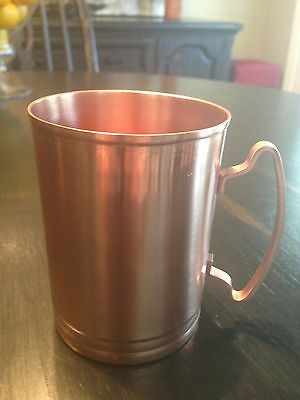 MOSCOW MULE COOPER MUG SET OF (4) 14 OZ  LIBBEY MM-200 FREE SHIPPING USA ONLY