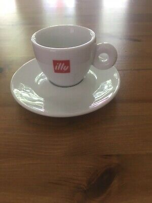 illy espresso cup and saucer
