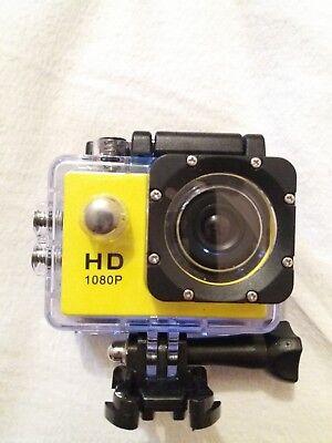 Hd 1080 p action camera waterproof