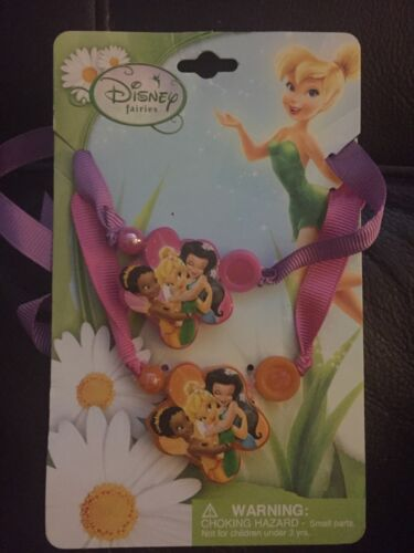 Disney Fairies and Tinkerbell BFF Ribbon Necklaces - Choker