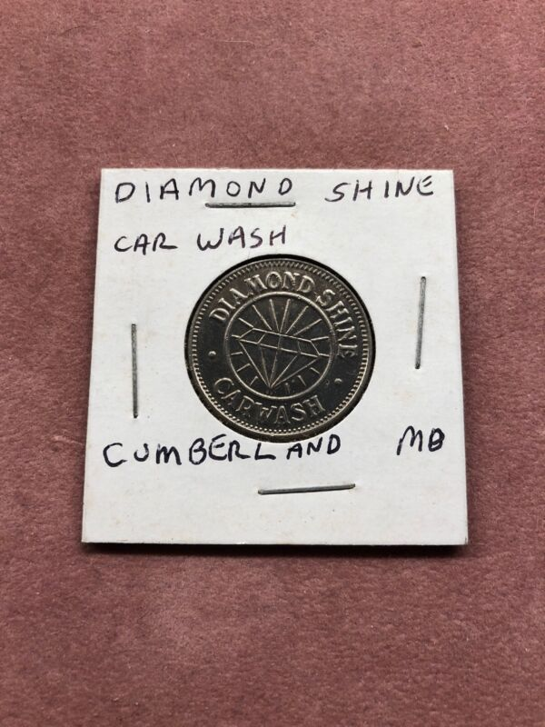 Diamond Shine Car wash Token