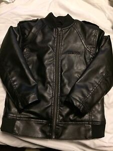 Brand New Youth Size 5 Kenneth Cole Pleather Jacket