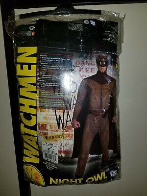 HALLOWEEN COSTUME WATCHMEN NIGHT OWL ADULT MEN'S COSTUME XL EXTRA LARGE 44-46