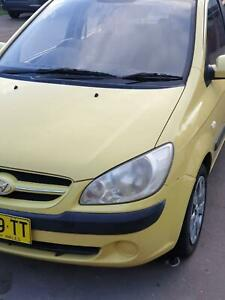 2007 Hyundai Getz 1.4 Manual Hatchback