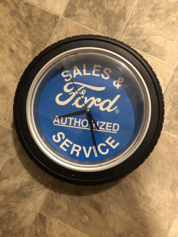 Ford Authorized Sales and Service Clock
