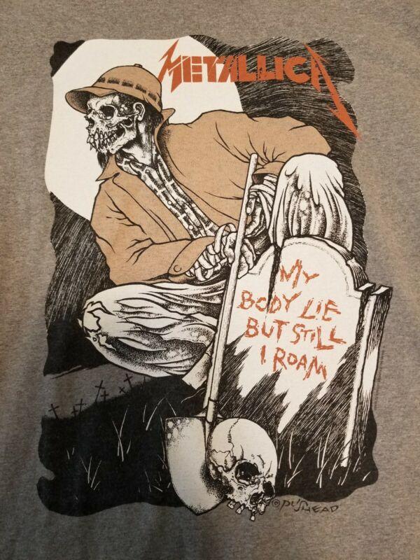 "Metallica 1992 vintage tshirt  RARE ""Wherever I May Roam"" (Men"