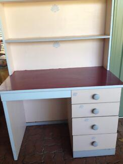 Student desk with bookcase Bakewell Palmerston Area Preview