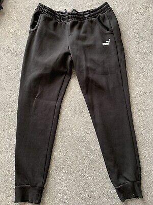 Ladies Puma Black Joggers Size 18