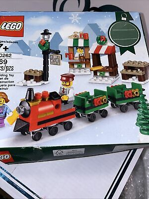 Lego Christmas Train Ride #40262 New damaged box
