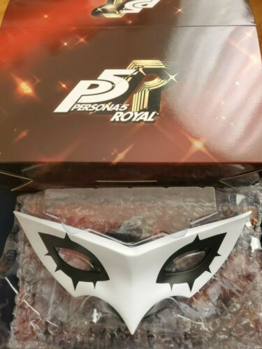 Persona 5 Royal Phantom Thieves Edition Official Joker Mask and Stand Only