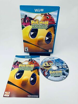 Pac-Man and the Ghostly Adventures (Nintendo Wii U, 2013) Complete Tested