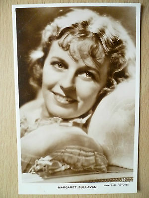 Cinema Star Real Photo Postcard- MARGARET SULLAVAN (Universal Picture, No. 89)