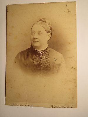 Köln - 1899 - Frau - Portrait / KAB