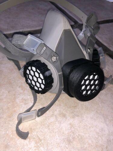 3M Respirator Reusable Filter (SET) 6000, 6200
