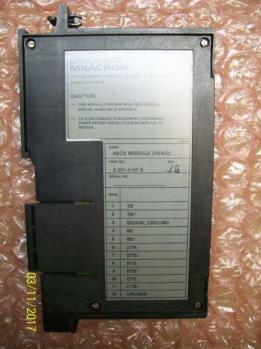 Cincinnati Milacron ASCII Interface Module 3-531-4147A  Rev G