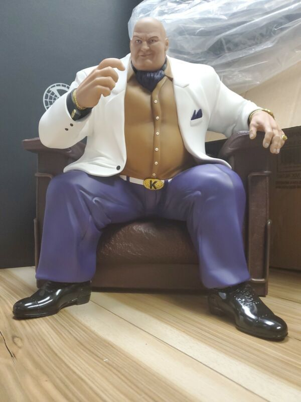 XM Studios KINGPIN 1/4 Scale Comic EDITION MINT COMPLETE IN BOX!! MARVEL