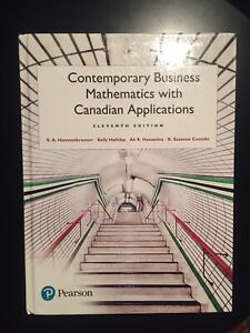 Hardcover Contemporary business mathematics with cndn app