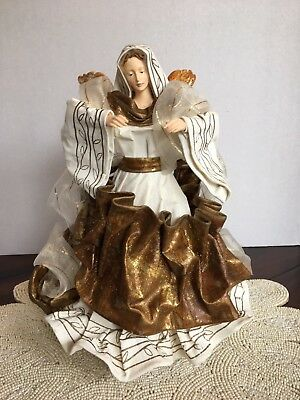 LIMITED EDITION CHRISTMAS MAGIC COLLECTION 1997 LARGE ANGEL TREE TOPPER