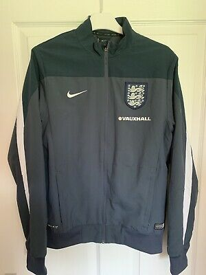 2016/2017 England football walkout training jacket Nike small men's not shirt
