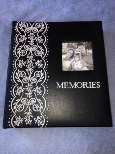 "MYX Photo Book Album Holds 500 4""x 6"" Photos 50 Sheets/100 Pages"