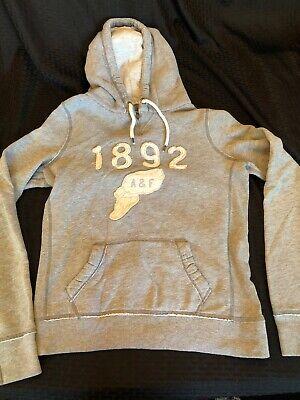 Abercrombie & fitch Size Large L Women's Hoodie Sweatshirt Gray