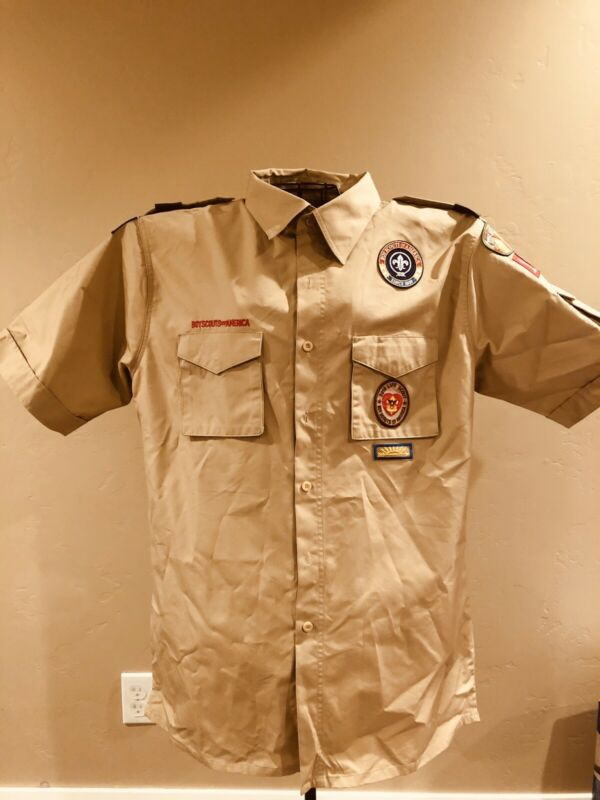 BSA Boy Scouts Of America Official Shirt Mens Size Large