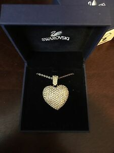 Genuine Swarovski Gladys Heart Necklace