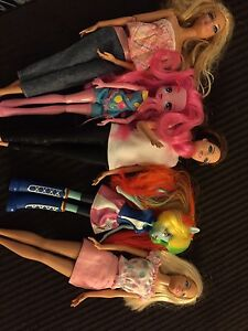 Barbie Dream House with Barbies