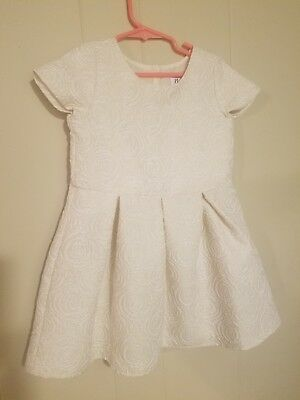 The childrens place Dress 4t ivory