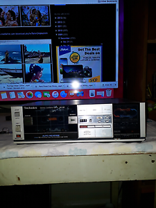 TECHNICS cassette deck Dandenong Greater Dandenong Preview