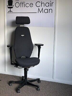 Kinnarps Plus 8 Executive Task Chair Headrest In Black Or Your Choice...