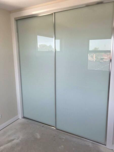 Sliding Wardrobe Doors Color Frosted Glass Building Materials
